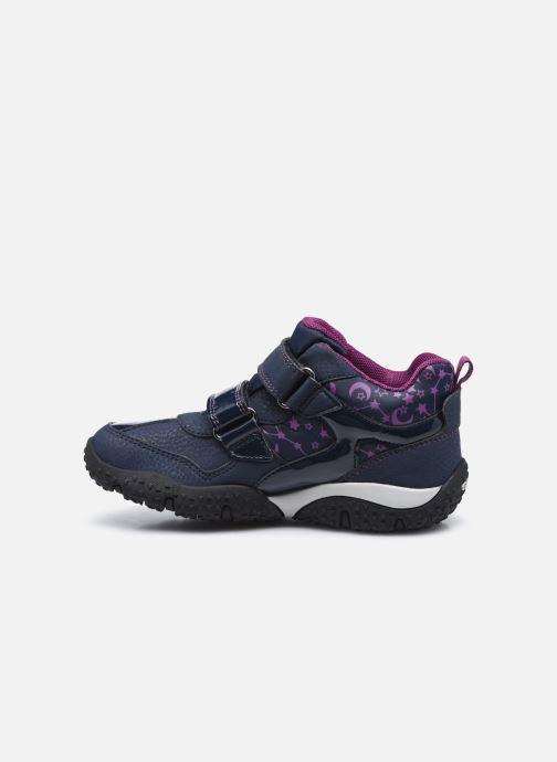 Sneakers Geox J Baltic Girl B Wpf  J042VA Azzurro immagine frontale
