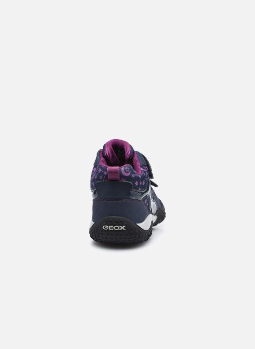 Sneakers Geox J Baltic Girl B Wpf  J042VA Azzurro immagine destra