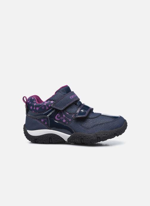 Sneakers Geox J Baltic Girl B Wpf  J042VA Azzurro immagine posteriore