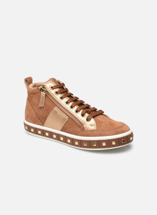Sneakers Geox D Leelu' D94FFG Bruin detail