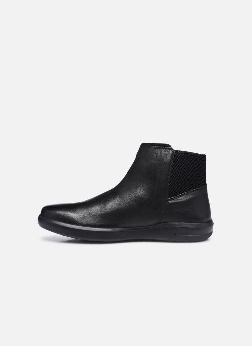Stiefeletten & Boots Geox U Samuele U04A3C schwarz ansicht von vorne