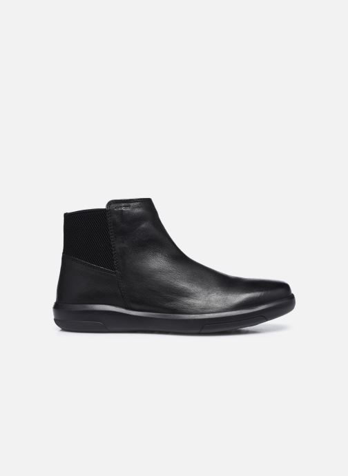 Stiefeletten & Boots Geox U Samuele U04A3C schwarz ansicht von hinten