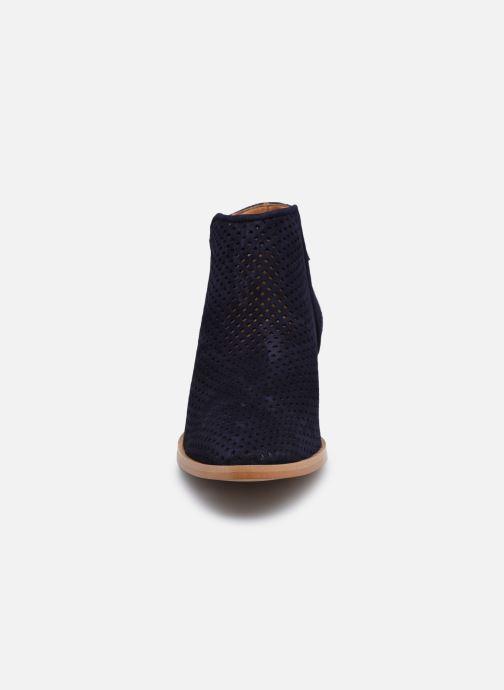Bottines et boots Georgia Rose Alicia Bleu vue portées chaussures