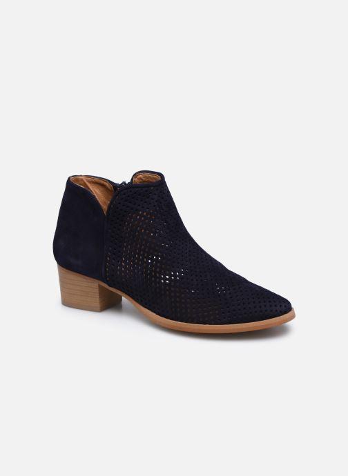 Bottines et boots Georgia Rose Alicia Bleu vue détail/paire