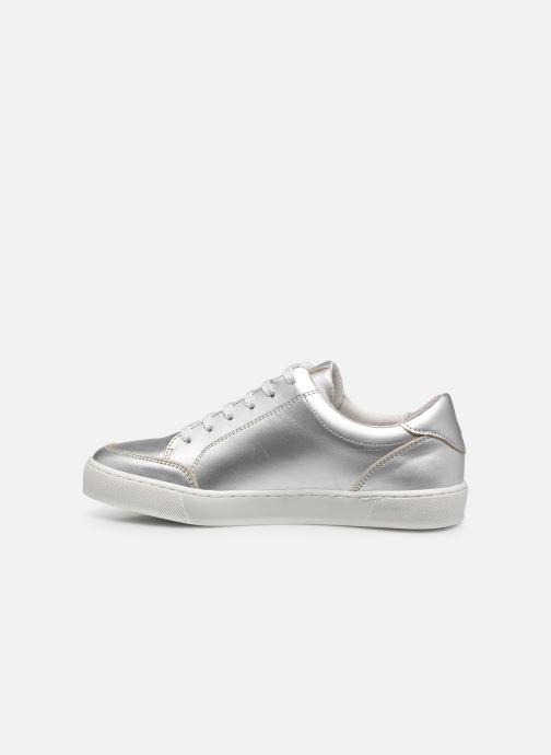 Sneakers Georgia Rose Amey Zilver voorkant