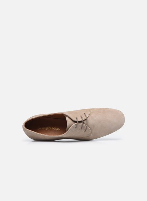 Chaussures à lacets Georgia Rose Aline Beige vue gauche