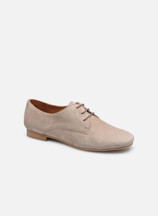 Chaussures à lacets Georgia Rose Aline Beige vue détail/paire