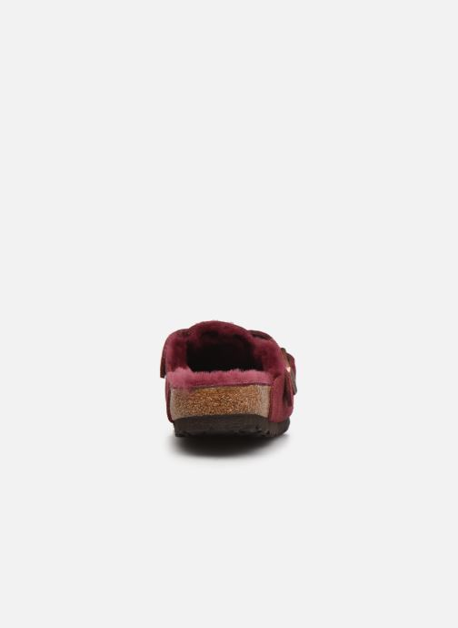 Pantofole Birkenstock Boston Vernis W Bordò immagine destra