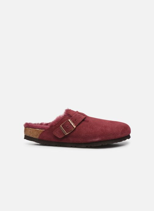 Pantofole Birkenstock Boston Vernis W Bordò immagine posteriore