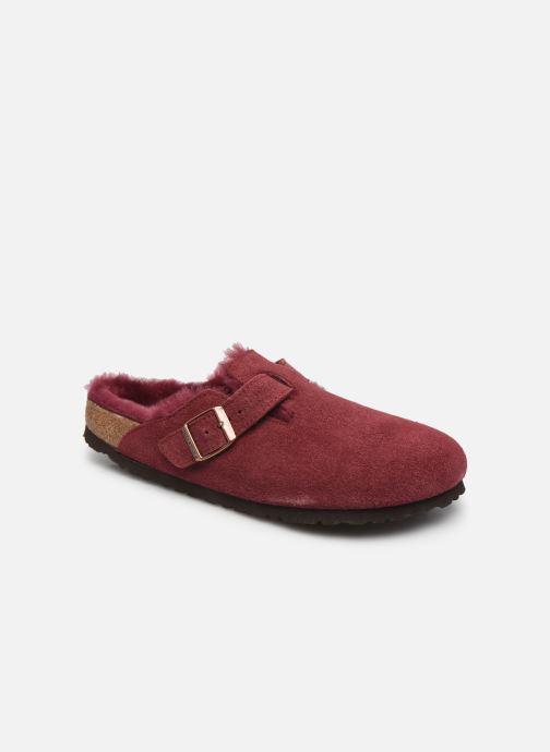 Pantofole Birkenstock Boston Vernis W Bordò vedi dettaglio/paio