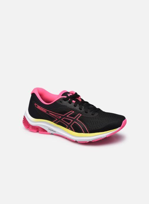 Chaussures de sport Asics Gel-Pulse 12 W Noir vue détail/paire