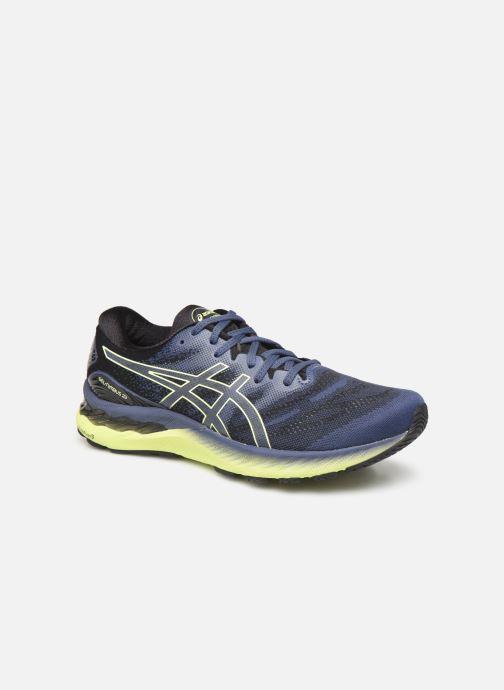 Chaussures de sport Asics Gel-Nimbus 23 M Noir vue détail/paire