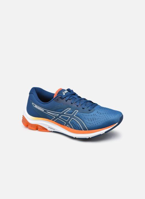 Chaussures de sport Asics Gel-Pulse 12 M Bleu vue détail/paire