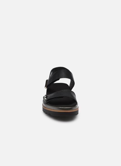 Sandales et nu-pieds Mephisto Dominica Noir vue portées chaussures