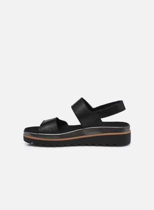 Sandales et nu-pieds Mephisto Dominica Noir vue face
