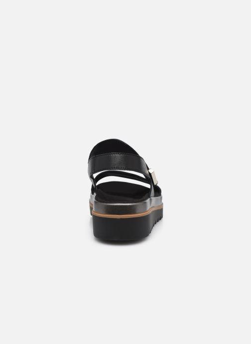 Sandales et nu-pieds Mephisto Dominica Noir vue droite
