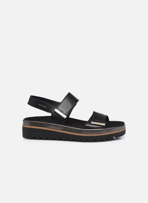 Sandales et nu-pieds Mephisto Dominica Noir vue derrière