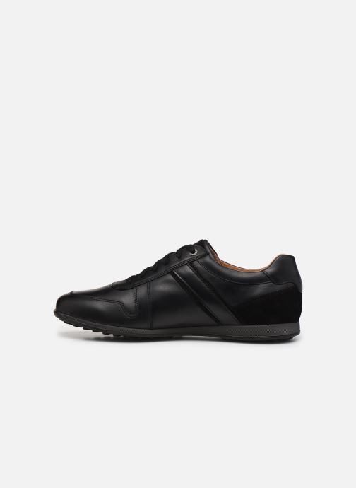 Sneaker Mephisto Lorenzio schwarz ansicht von vorne