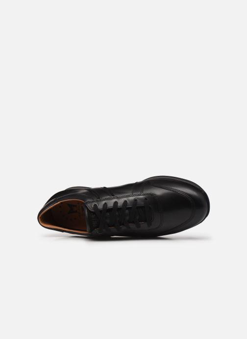 Sneaker Mephisto Lorenzio schwarz ansicht von links