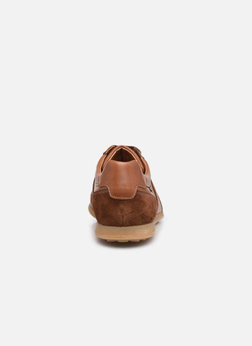 Sneaker Mephisto Lorenzio braun ansicht von rechts