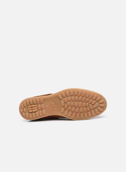 Sneaker Mephisto Lorenzio braun ansicht von oben