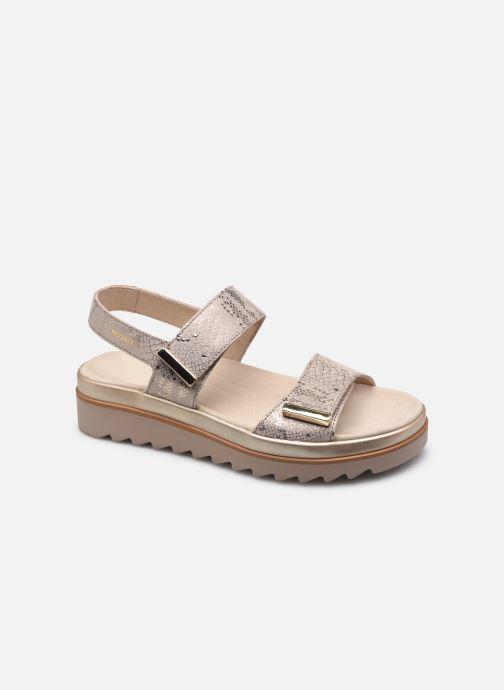 Sandales et nu-pieds Mephisto Dominica R Beige vue détail/paire