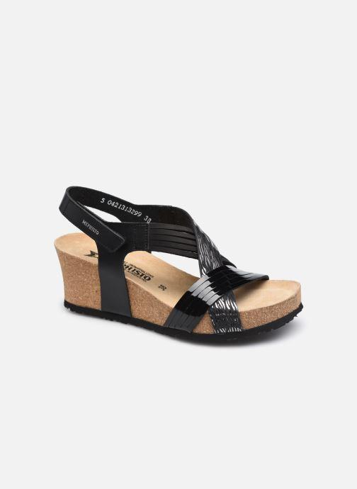 Sandales et nu-pieds Mephisto Leonia R Noir vue détail/paire