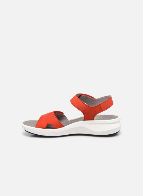 Sandali e scarpe aperte Mephisto Tany R Rosso immagine frontale