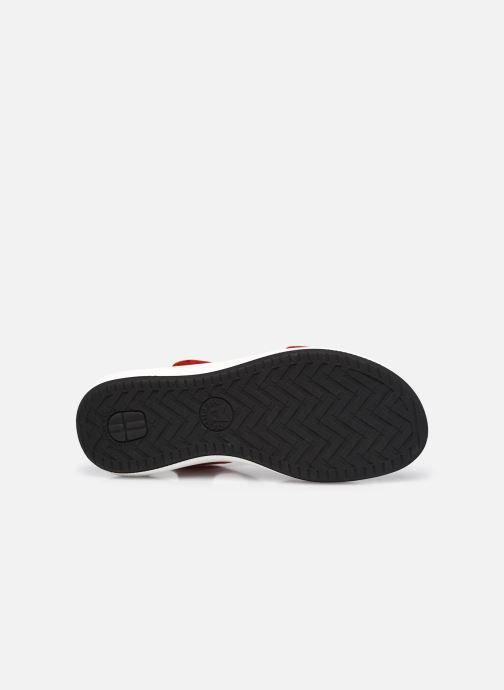 Sandali e scarpe aperte Mephisto Tany R Rosso immagine dall'alto