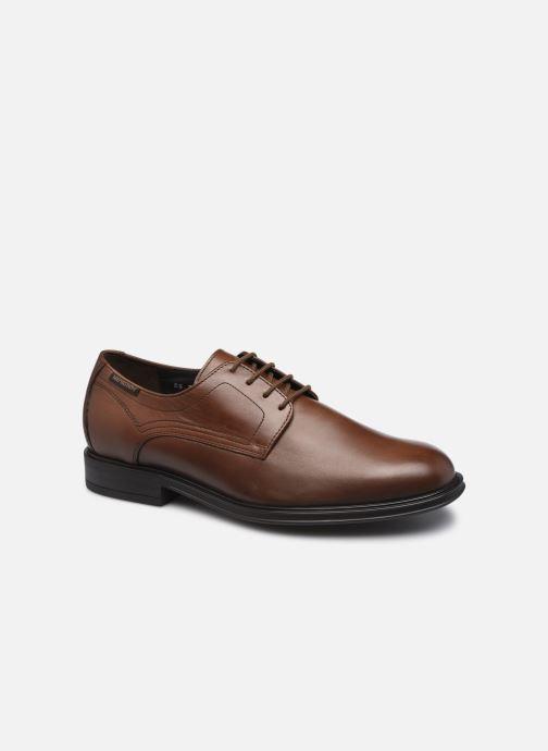 Chaussures à lacets Mephisto Kevin R Marron vue détail/paire