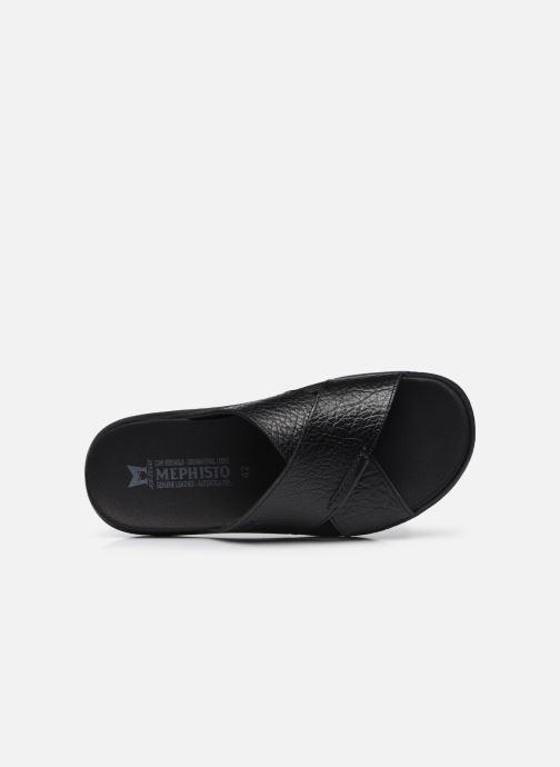 Sandales et nu-pieds Mephisto Conrad R Noir vue gauche