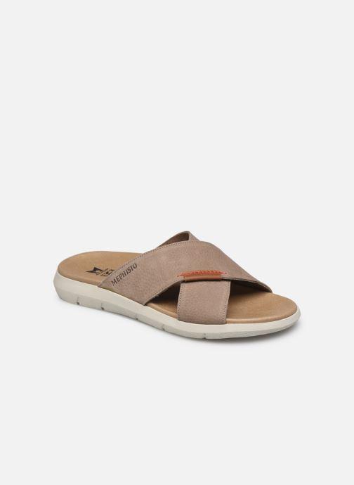 Sandales et nu-pieds Mephisto Conrad R Marron vue détail/paire