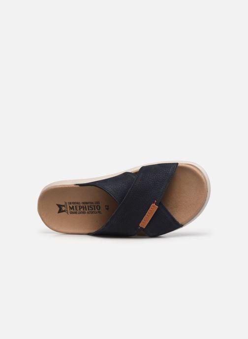 Sandales et nu-pieds Mephisto Conrad R Bleu vue gauche