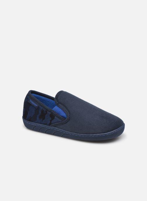 Pantuflas Isotoner Sans-Gêne Azul vista de detalle / par