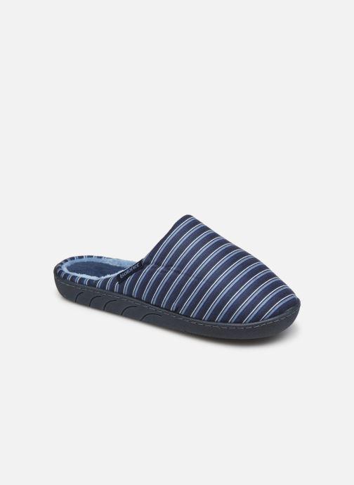Pantofole Isotoner Mule Suedine Azzurro vedi dettaglio/paio