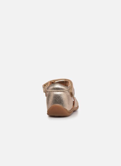 Sandali e scarpe aperte Bisgaard Aya Oro e bronzo immagine destra