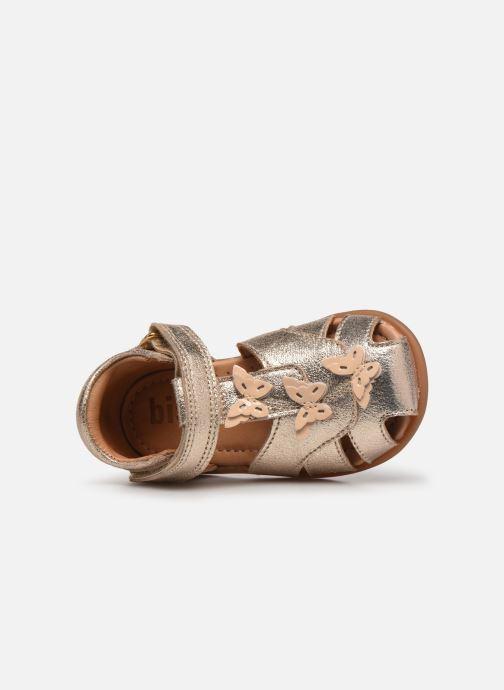 Sandali e scarpe aperte Bisgaard Aya Oro e bronzo immagine sinistra