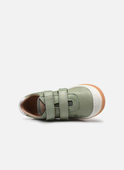 Sneaker Bisgaard Kaya grün ansicht von links