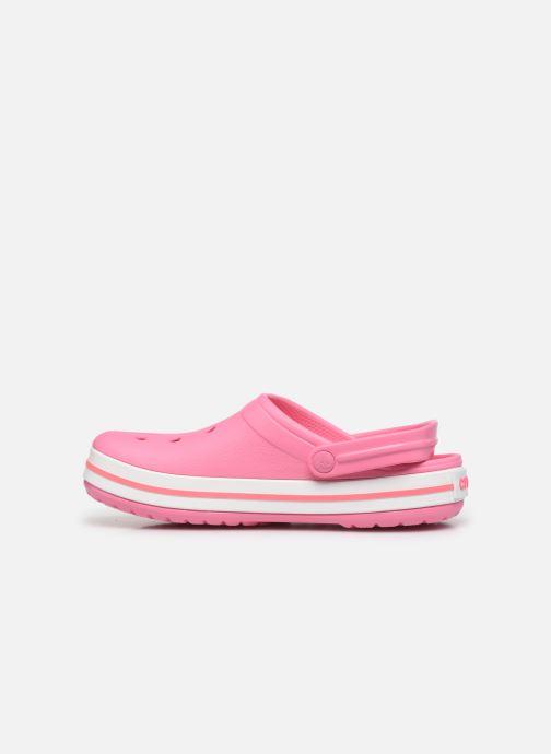 Clogs & Pantoletten Crocs Crocband N rosa ansicht von vorne