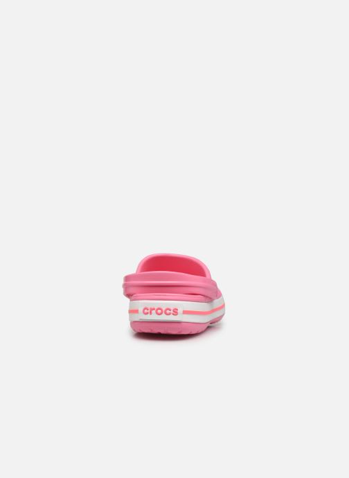 Clogs & Pantoletten Crocs Crocband N rosa ansicht von rechts