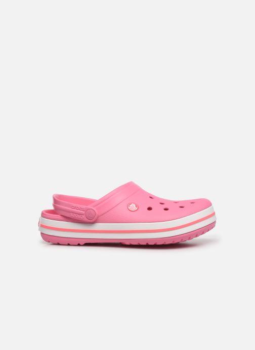 Clogs & Pantoletten Crocs Crocband N rosa ansicht von hinten
