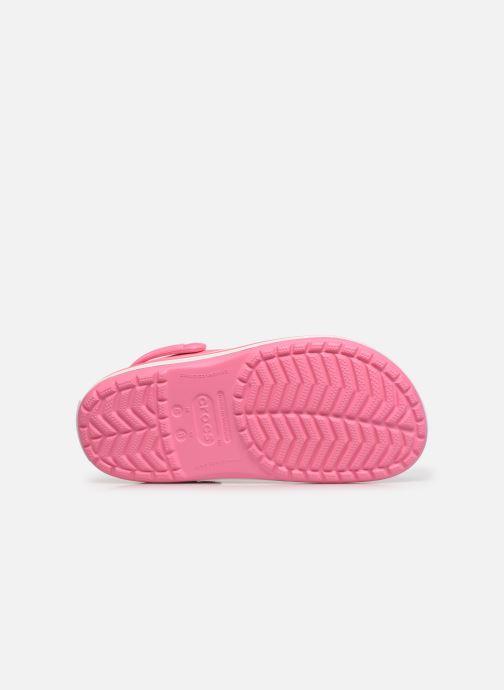 Clogs & Pantoletten Crocs Crocband N rosa ansicht von oben