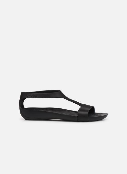Sandalen Crocs Crocs Serena Sandal W schwarz ansicht von hinten