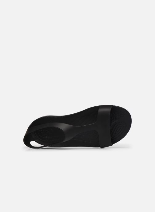 Sandalen Crocs Crocs Serena Sandal W schwarz ansicht von links