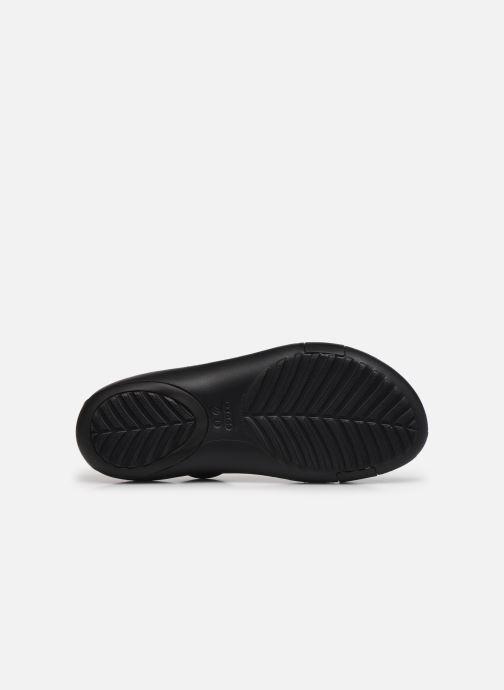 Sandalen Crocs Crocs Serena Sandal W schwarz ansicht von oben