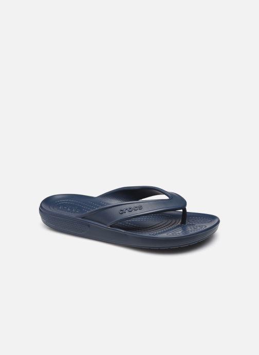 Tongs Crocs Classic II Flip Noir vue détail/paire