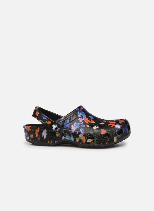 Clogs & Pantoletten Crocs Classic Printed Floral Clog schwarz ansicht von hinten