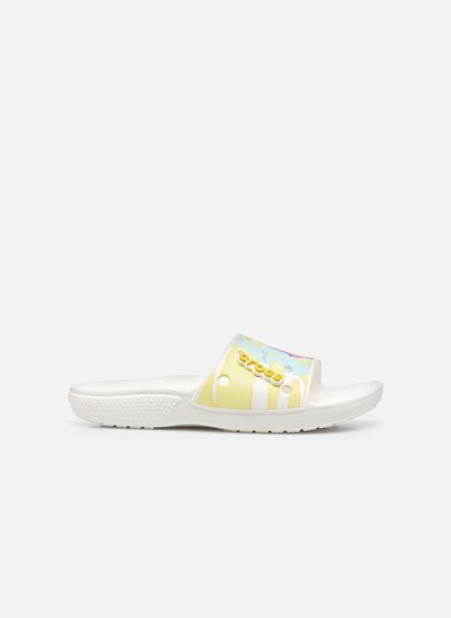 Clogs & Pantoletten Crocs Classic Crocs TieDye Grphc Sld weiß ansicht von hinten