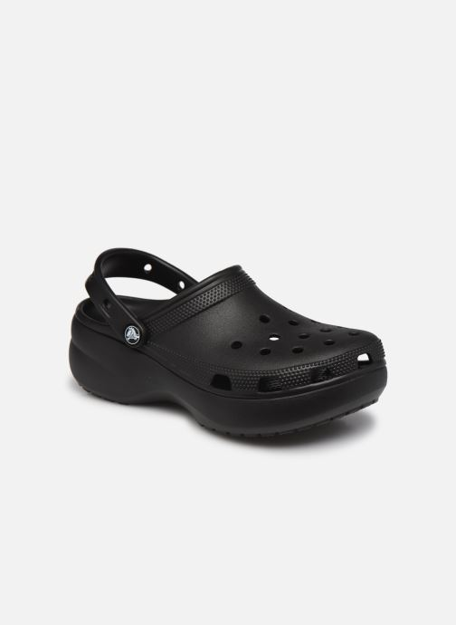 Wedges Crocs Classic Platform Clog W Zwart detail