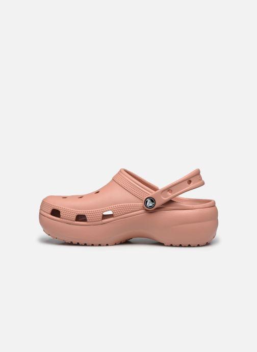 Clogs & Pantoletten Crocs Classic Platform Clog W rosa ansicht von vorne